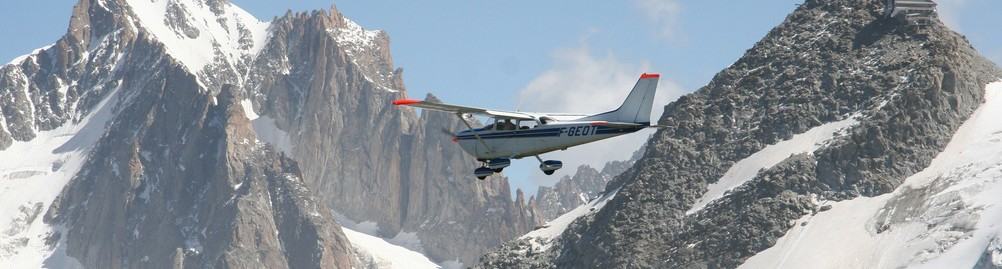 Vol Mont Blanc